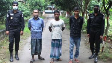 রংপুরে 'আল্লাহর দল'-এর ৩ সদস্য গ্রেপ্তার