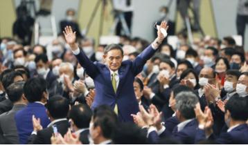 জাপানের প্রধানমন্ত্রী হচ্ছেন ইয়োশিহিদে সুগা