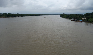 সুনামগঞ্জে সুরমা নদীর পানি বিপৎসীমার ৮ সেন্টিমিটার ওপরে