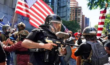 মার্কিন নির্বাচন: ভুয়া তথ্য ছড়িয়ে সহিংসতার আশঙ্কা