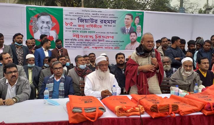 আন্দোলনে সরকারের পতন ঘটাতে হবে : রিজভী