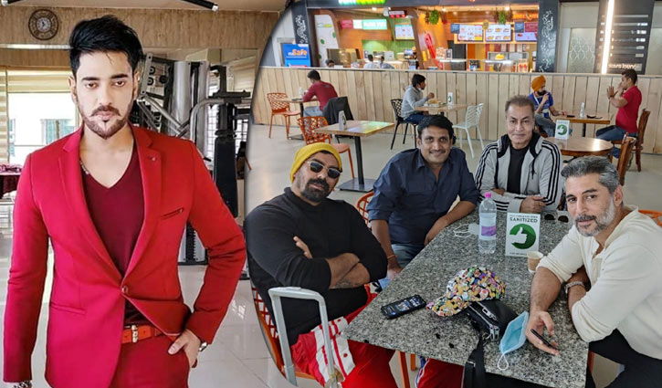 অনন্ত'র ডাকে ঢাকায় তিন দেশের অভিনেতা