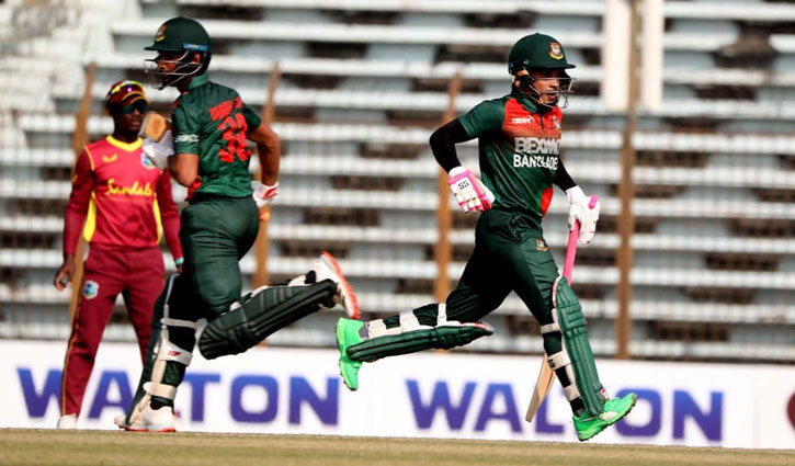 Tigers set 298-run target for West Indies