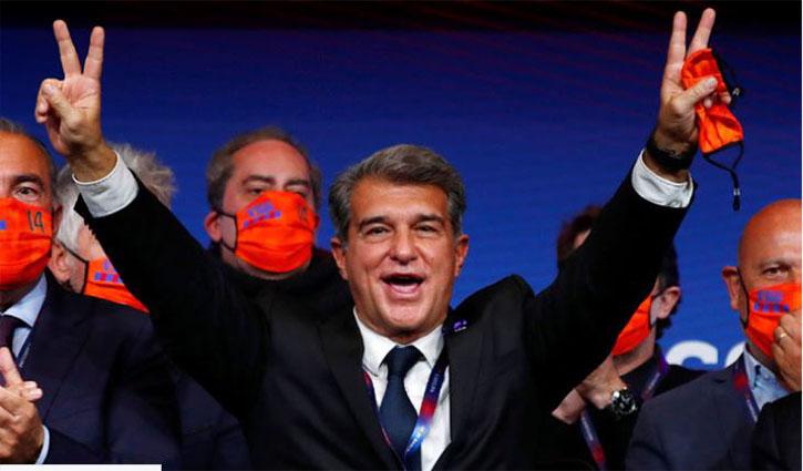 Laporta elected new president of Barcelona