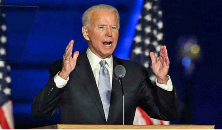 US President-elect Biden promises to `unify` country