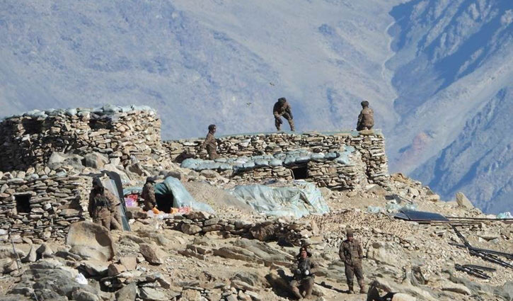 China unveils names of five soldiers killed in clash against Indian army