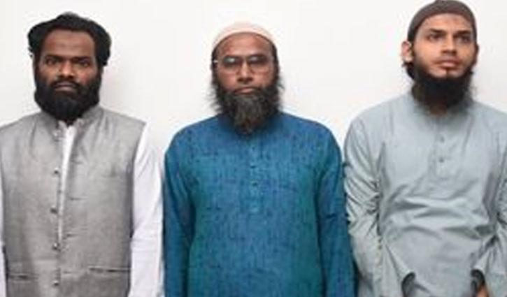 3 HuJI leaders put on 3-day remand