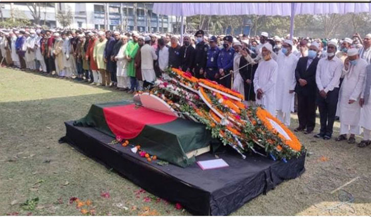 HT Imam's first namaz-e-janaza held