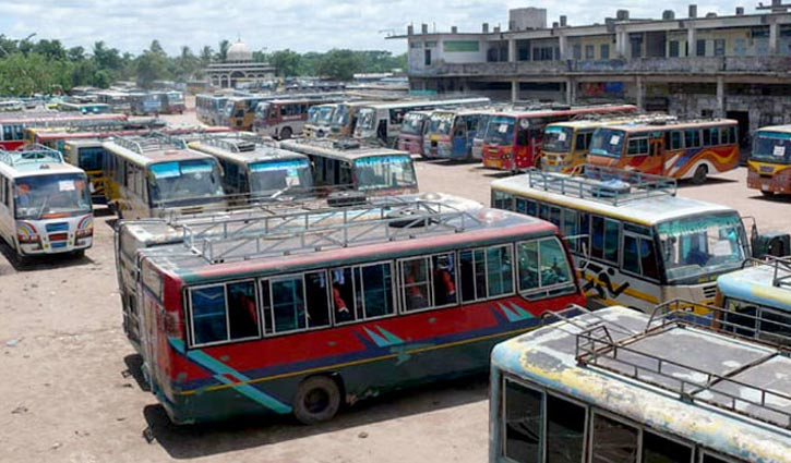 Commuters suffer as plying of buses in Khulna suspended