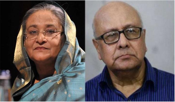 PM condoles death of Khondkar Ibrahim Khaled