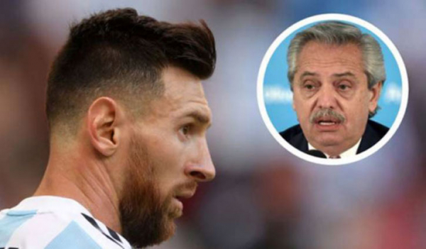 Argentine president urges Messi to return home