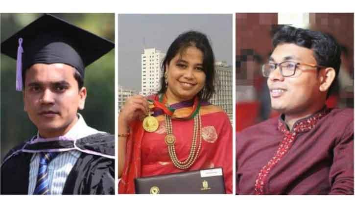 3 NSTU teachers get BST Fellowship