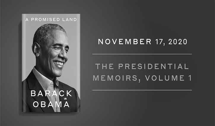 Obama's 'A Promised Land' sells over 1.7m copies!