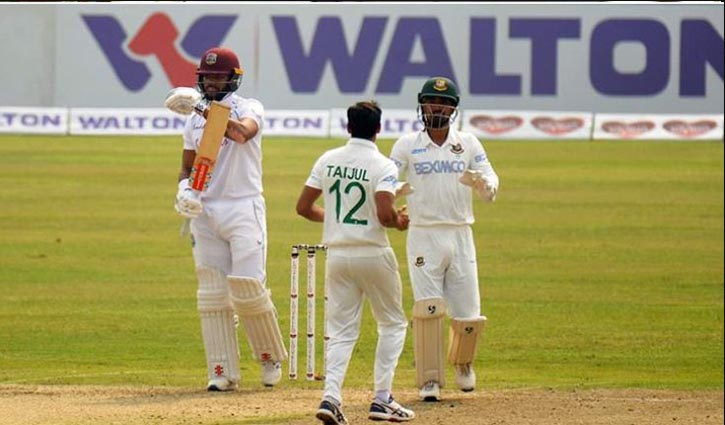 West Indies lose five wickets