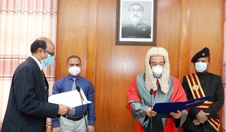 New PSC Chairman Sohorab Hossain takes oath