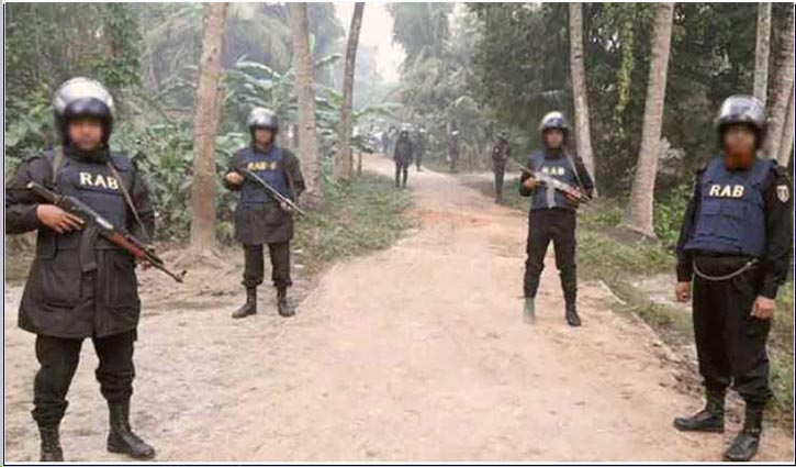 RAB cordons off house in Sirajganj suspecting militant hideout