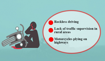 Causes of motorcycle accidents in Bangladesh