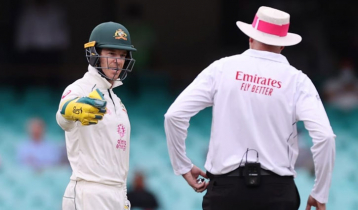 Australia captain Tim Paine fined for showing dissent to umpire