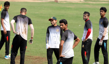 Bangladesh cricketers start practice