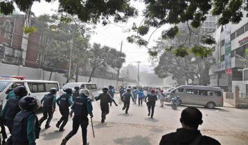 BNP men clash with cops