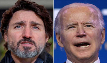 Biden-Trudeau`s maiden meeting in February