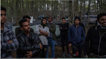 Bangladeshi migrants stranded in Bosnia forest