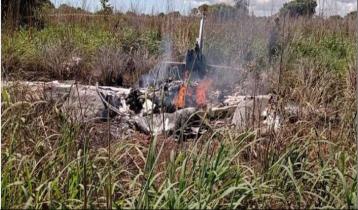 Four football players killed in Brazilian air accident