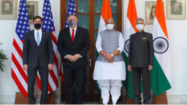 US stands with India to deal with China threat