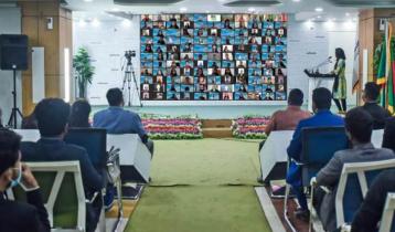Virtual Social Business Students' Forum-2020 at Daffodil