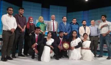 DIU becomes champion at inter-univ debate competition