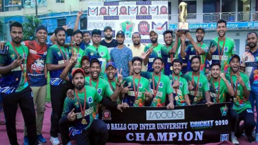 DIU stun Prime Univ to win Jadoube Cricket Tournament trophy