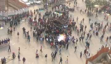 Bid to stage demo at Shahbagh: 10 students in police custody
