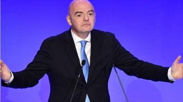 FIFA President Infantino tests coronavirus positive