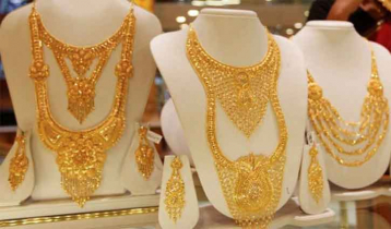 Gold prices increase Tk2,449 per Bhori