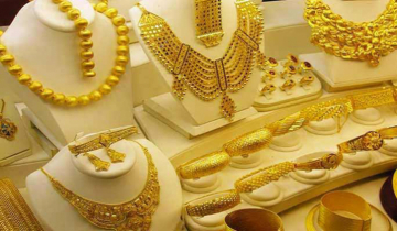Gold prices drop by Tk 1,516 per bhori