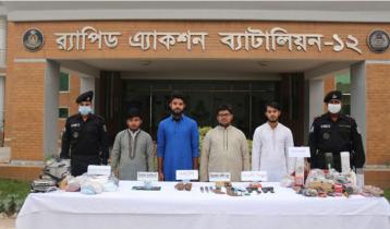 Four Shahjadpur JMB men sent to jail