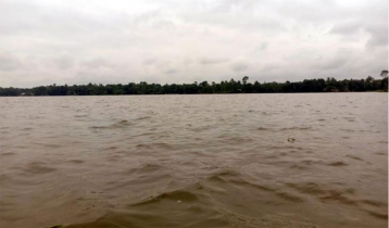 Jamuna water surges on Aricha point