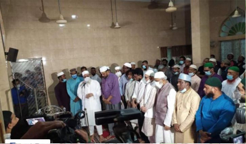 First namaj-e-janaza of ATM Shamsuzzaman held