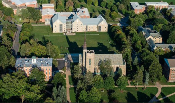 Lawrence University moves online