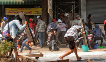 18 killed in Myanmar as security forces fire in protest