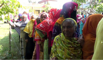 Voting in Dhaka-5, Naogaon-6 by-polls underway
