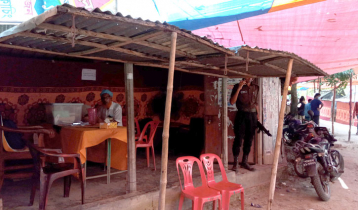 UP election voting held at tea stalls