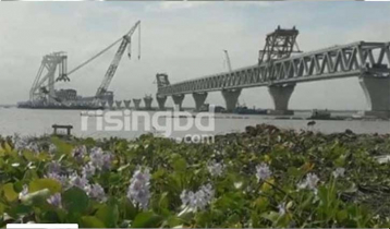 40th span of Padma Bridge to be installed Friday