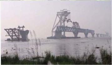 5 km of Padma Bridge now visible