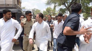 Rahul Gandhi arrested