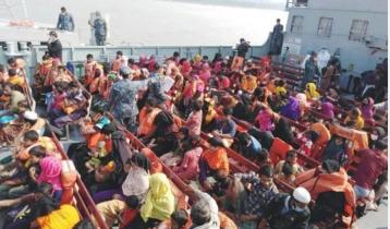1,642 Rohingyas on way to Bhasan Char