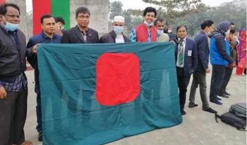 8 BRUR teachers sued for national flag desecration