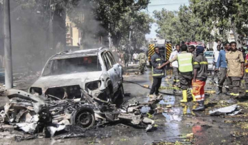 Death toll from Somalia suicide bomb blast rises to 20