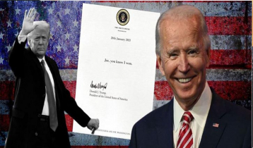 Biden will not publish contents of Trump`s letter