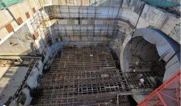 65pc construction work of Bangabandhu Tunnel completed
